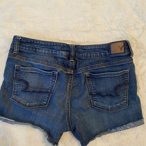 American Eagle Outfitters Shorts - American Eagle Super Stretch Denim Shortie Shorts